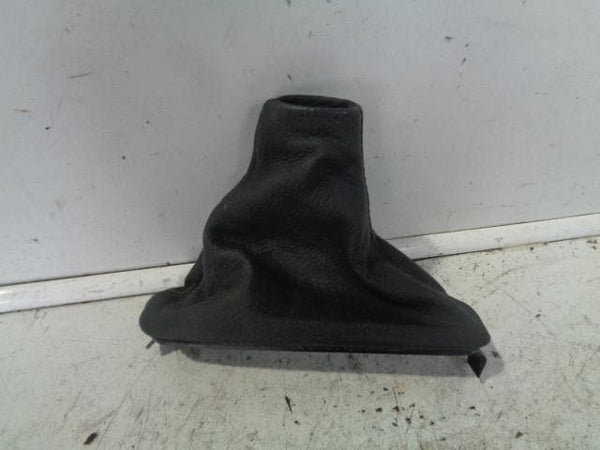 2000 - 2006 BMW X5 E53 HANDBRAKE GAITER / SURROUND IN BLACK LEATHER