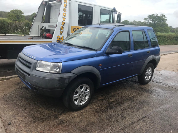 CURRENTLY BREAKING... 2001 FREELANDER 1 K-SERIES 1.8 PETROL MANUAL IN BLUE
