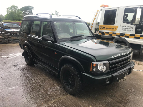 CURRENTLY BREAKING... 2002 LAND ROVER DISCOVERY 2 (FACELIFT) TD5 ADVENTURER LE MANUAL