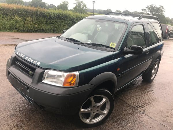 CURRENTLY BREAKING... 1999 FREELANDER 1 K-SERIES 1.8 PETROL MANUAL 3 DOOR