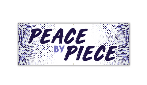 Peace by Piece Banner - Lent 2019