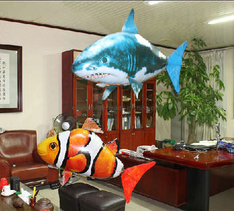 Air Fish™ - The Romote control Inflatable Shark/Clown fish-