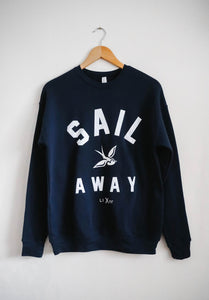 Crew neck Locals Sail Away