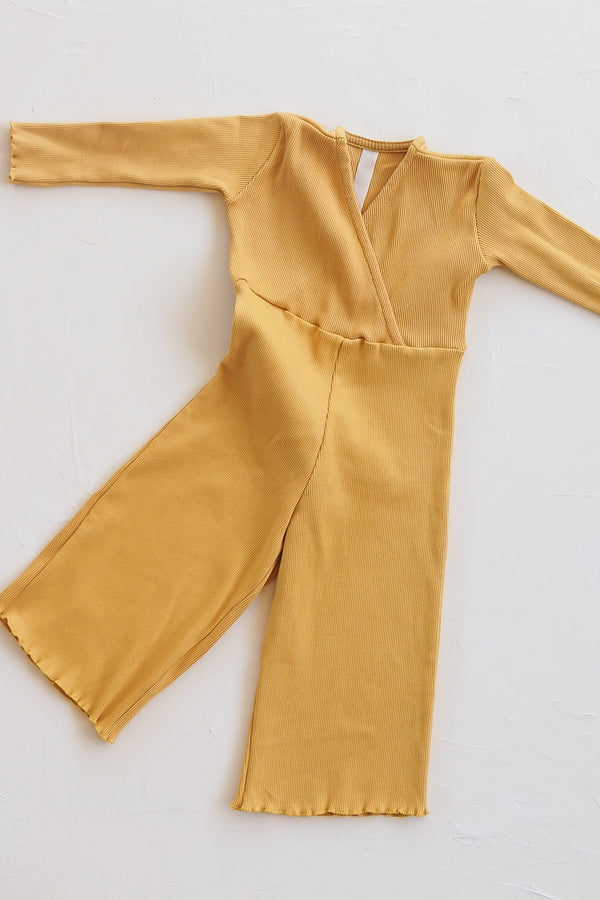 The Weekender Pantsuit - Golden