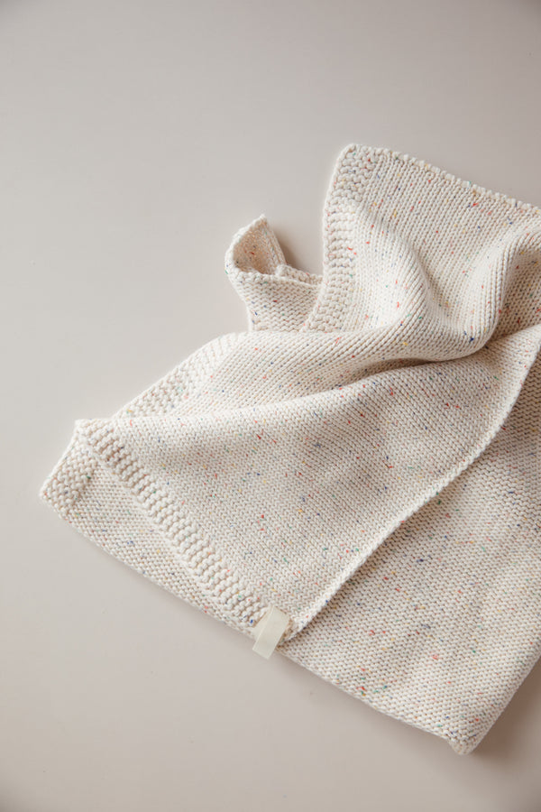 Seasonal Baby Blanket - Cream Sprinkle