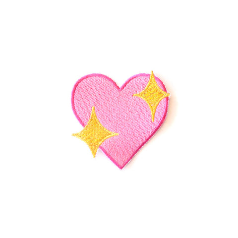 Cool Girls Club Sparkle Heart Emoji