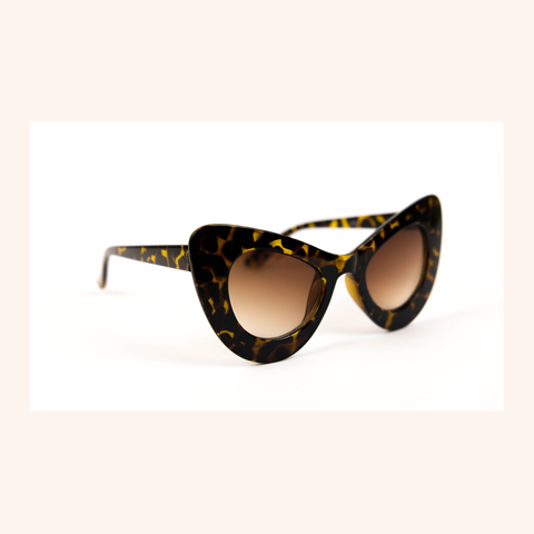 Cool Girls Club Rituals Collection Cat Eye Sunglasses (Tort)