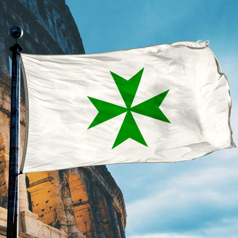 Knights Of St. Lazarus Flag - Flag Flags