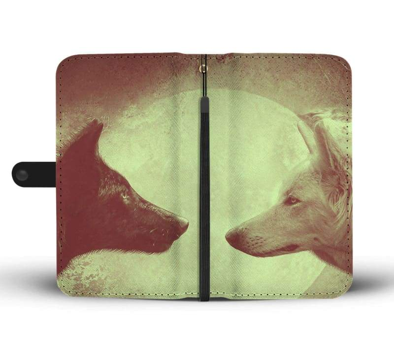 Wolves Wallet Case - Wallet Case Cases Phones Wallets