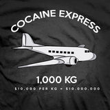 The COCAINE EXPRESS tee shirt
