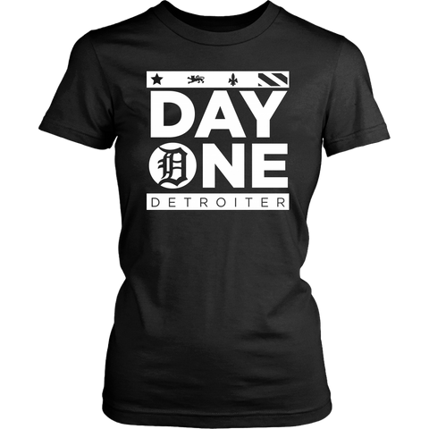 Day One Detroiter Womens T-shirt