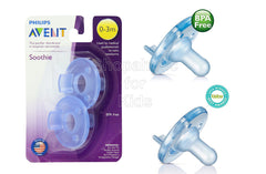 Philips Avent - Soothie Pacifier, Blue, 0-3 Months, Pack of 2