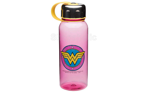 DC Comics Wonder Woman Wide-Mouth Water Bottle with Loop