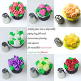 Delish Treats 12pc Russian Tulip Decorating Tips - Shopaholic for Kids
