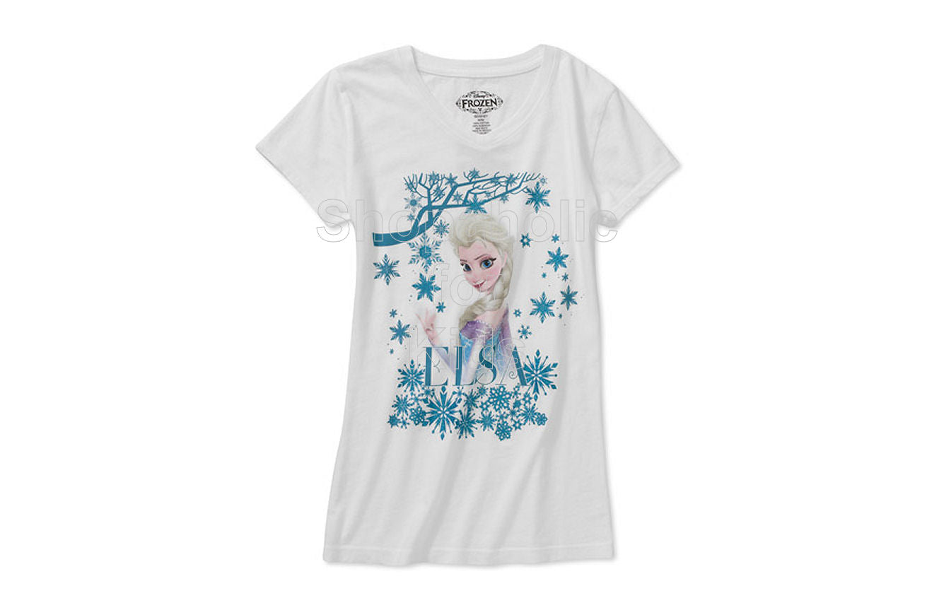 Disney Frozen Elsa Girls' Graphic Tee - Shopaholic for Kids
