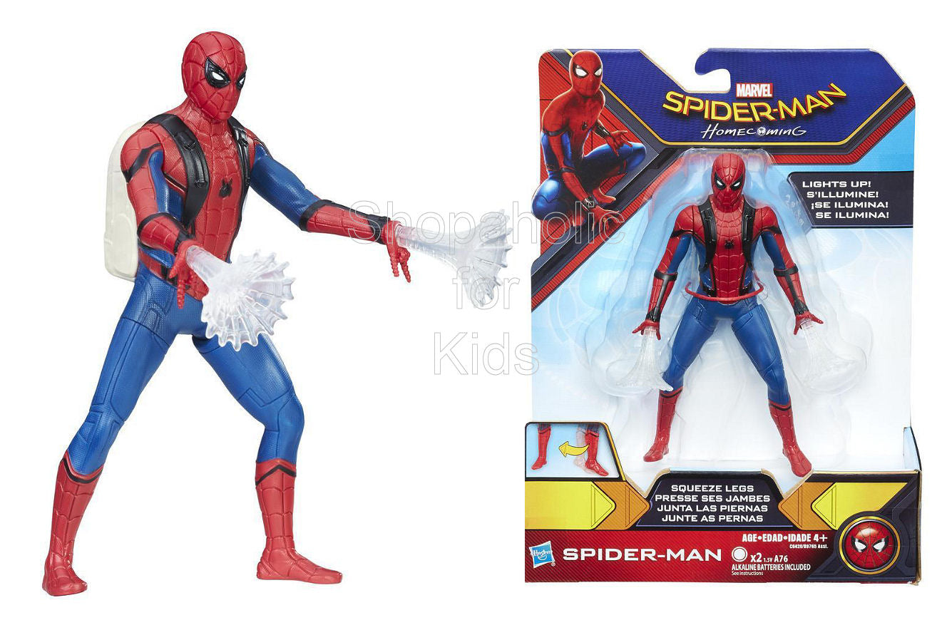 Marvel Spider-Man Homecoming Spider-Man 6-Inch Feature Figure