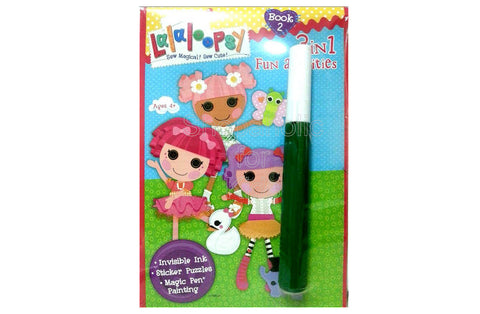 Lalaloopsy Invisible Ink, Magic Pen Painting & Sticker Book 2