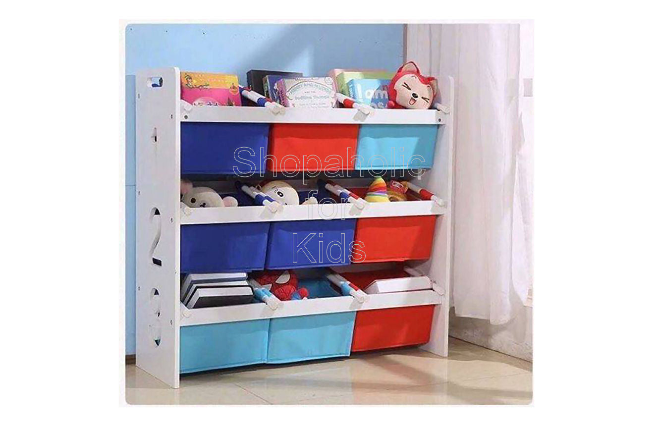 Toy Shelf with Soft Trays - Medium - Shopaholic for Kids