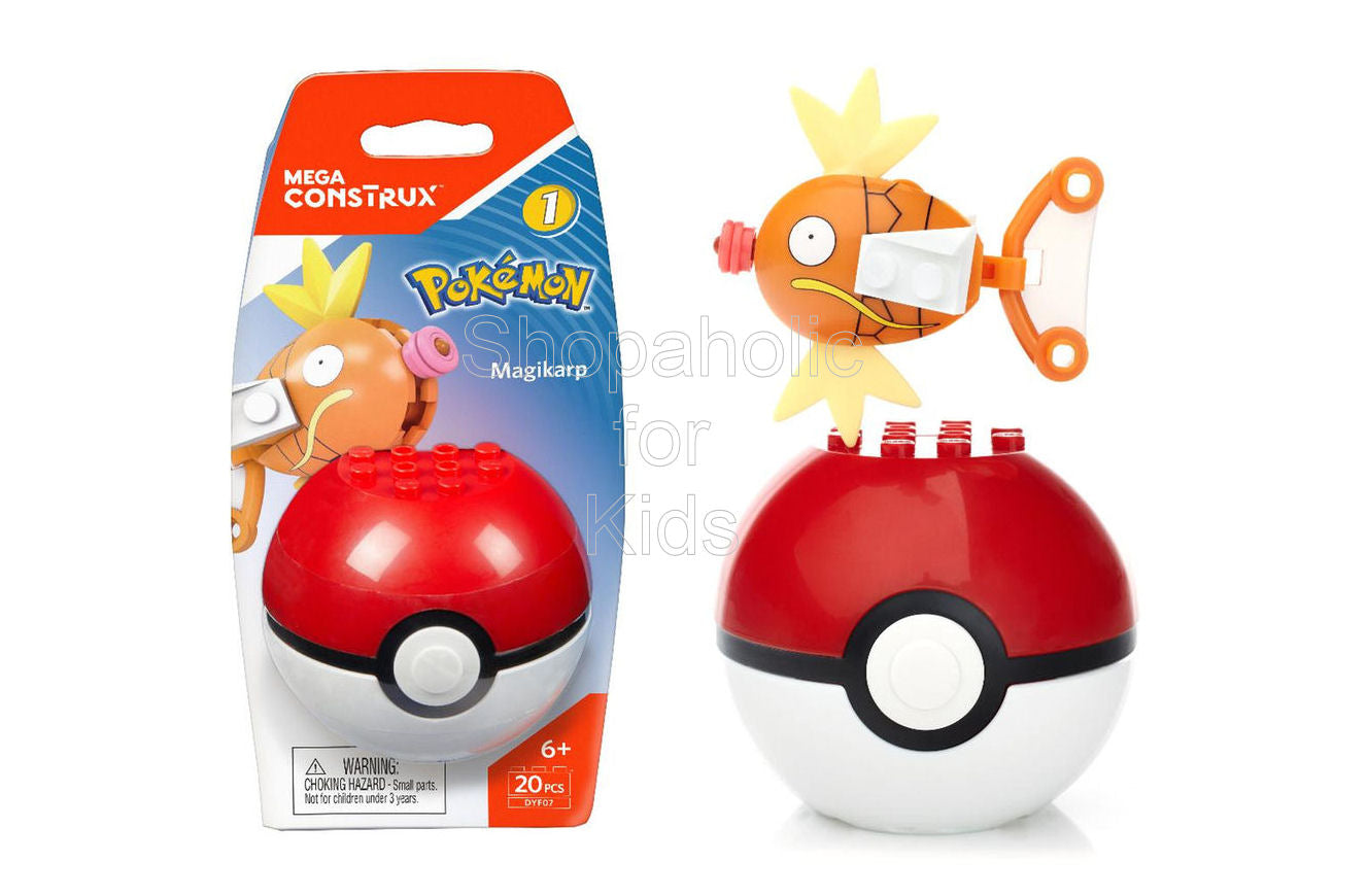 Mega Construx Building Set - Pokemon Magikarp Figure - Shopaholic for Kids