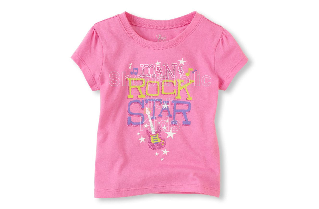 Children's Place Mini Rock Star Graphic Tee - Shopaholic for Kids
