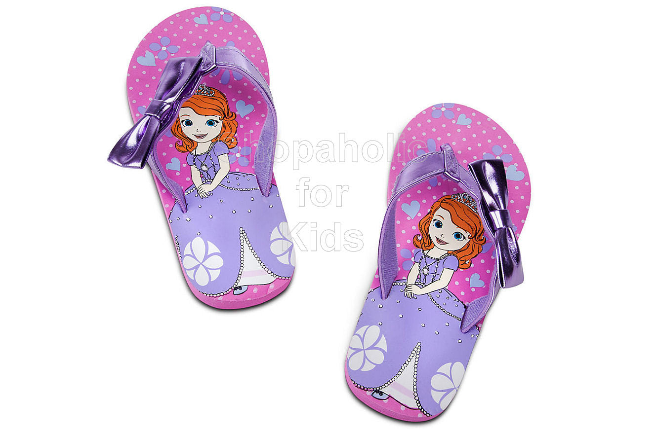 Sofia The First Flip Flops   Color: Pink - Shopaholic for Kids