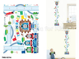Thomas and Friends Height Chart Wall Sticker - Shopaholic for Kids