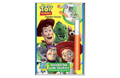 "Disney/Pixar Toy Story - ""Together Forever"", 2 in 1 Activity Book"