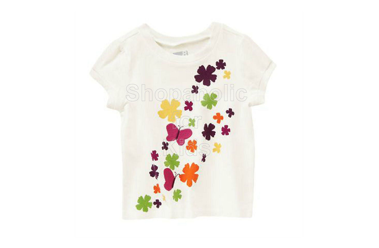 Crazy8 Butterfly Tee - Shopaholic for Kids