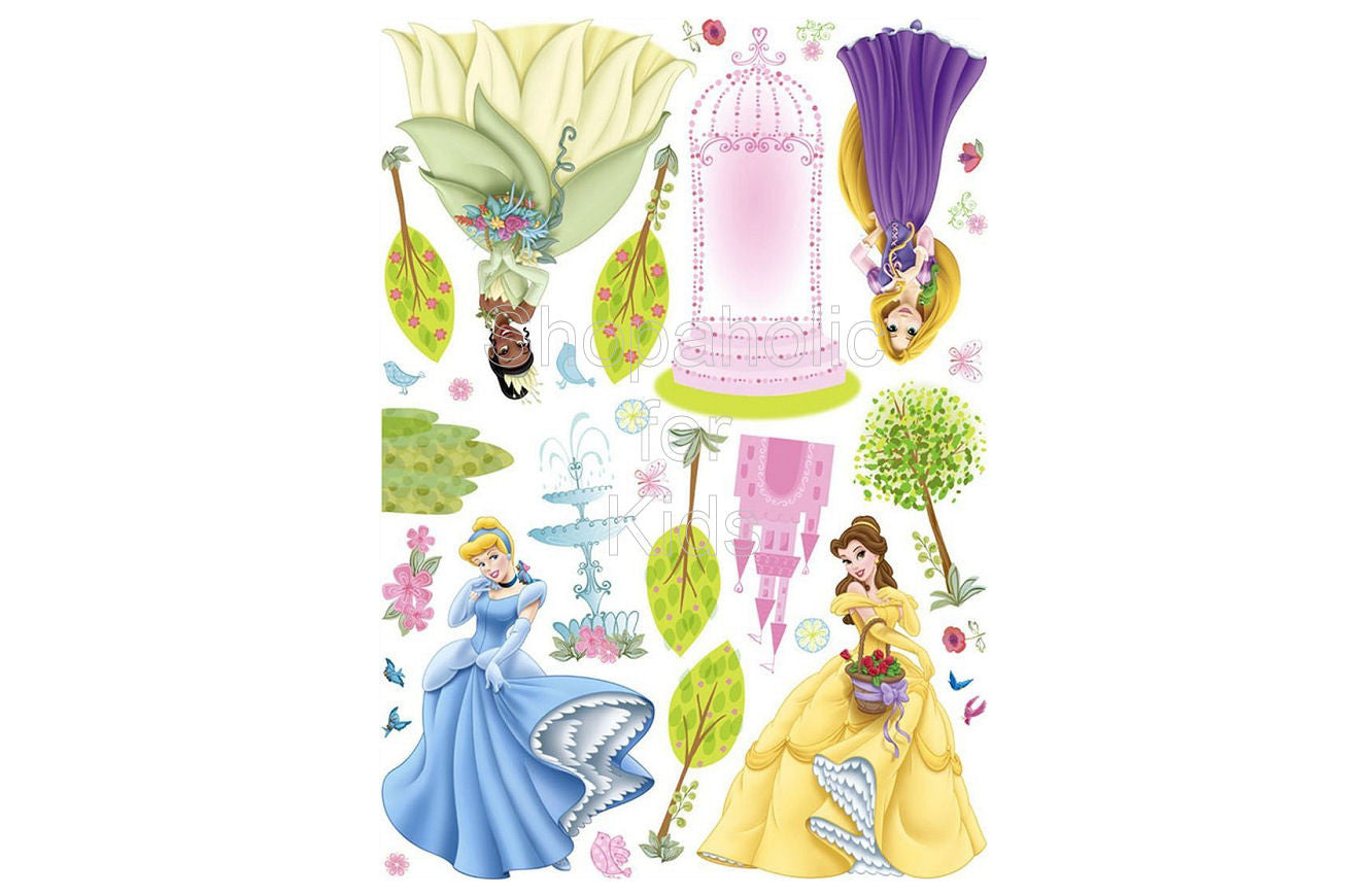Disney Princess Sticker - Shopaholic for Kids