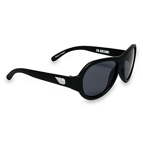 Babiators Aviator Sunglasses - Black Ops Black  0-2 Years