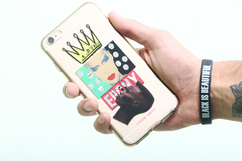 CROWNED POKER FACE IPHONE CASE - SIOBHAN HUNTER BRAND