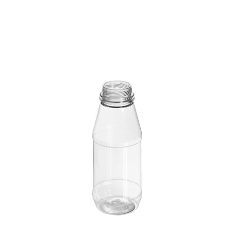 250ml Clear Round Juice Bottle
