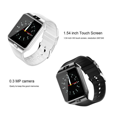 DZ09 Bluetooth Smart Watch Phone + Camera SIM SLOT For Samsung Android Apple iOS Phones - ISaleuk