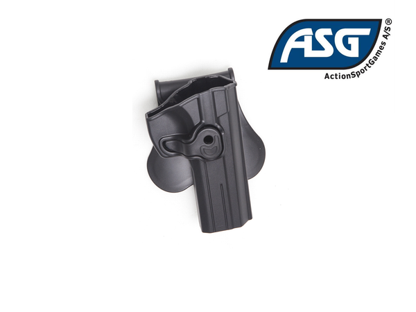 ASG Polymer Holster for SP-01 Shadow, Black