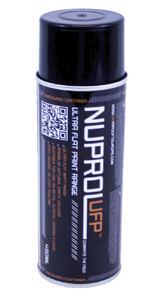 Nuprol Ultra Flat Paint Range Black 450ml