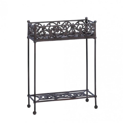 Summerfield Terrace Cast Iron Two-Tier Plant Stand