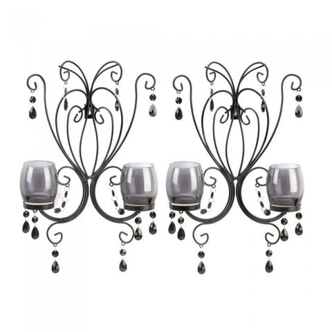 Gallery of Light Midnight Elegance Wall Sconces
