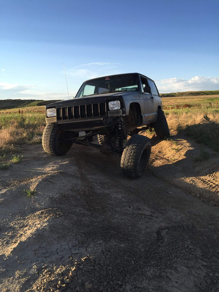 Jeep XJ Stubby Recovery Bumper
