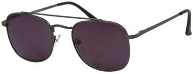DST5996SR - Wholesale Navigator Style Metal Reading Sunglasses in Black