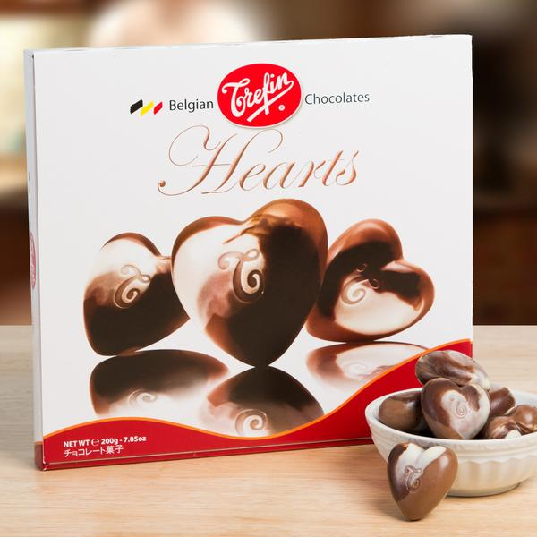 Hazelnut Mocha Chocolate Hearts