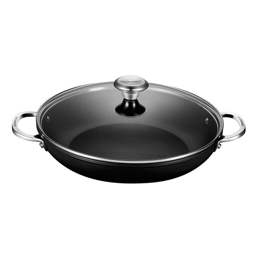 Le Creuset Dutch Ovens and Braisers Le Creuset Toughened Nonstick Braiser with Glass Lid, 4 Qt JL-Hufford