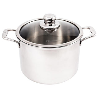 Swiss Diamond Stockpots & Soup Pots Swiss Diamond Premium Clad Stock Pot w/Lid - 7.9 Qt. JL-Hufford