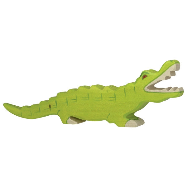 Holztiger - Wooden Animal - Crocodile