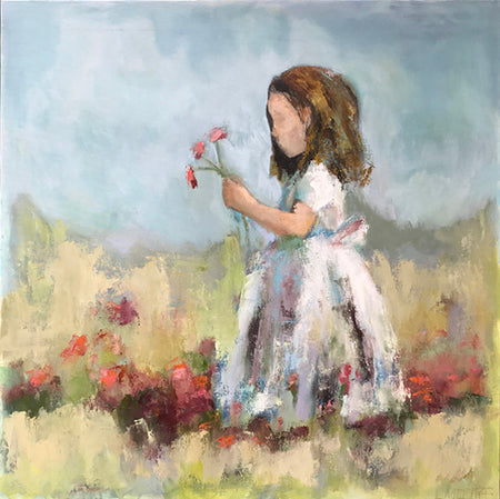 """Strawberry Shortcake""   40""x40"""