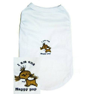 Dog Shirt One Happy Pup - Small to Large Dogs - dog-collar-fancy