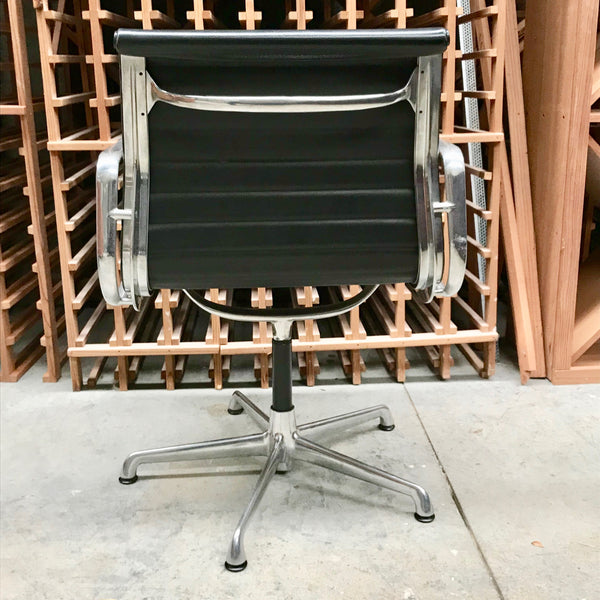 Eames Aluminium Group Side Chair with Arms by ICF Italy (2 available)