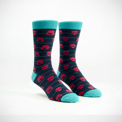 Helmet Head Casual Socks - Blue