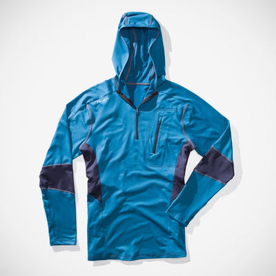 Azure Blue Lightweight Sky Hoodie - XXLarge Only