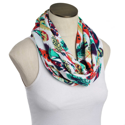 Wild Feather Nursing Scarf