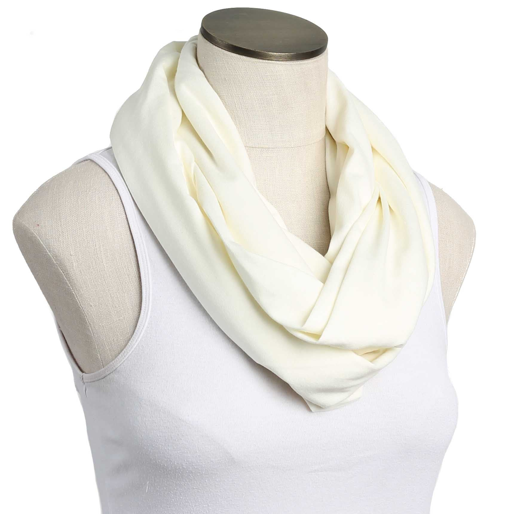 Sweet Cream 100% Organic Cotton Nursing Scarf